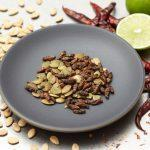 Chile-Lime Crickets & Pumpkin Seeds Chile-Lime Crickets & Pumpkin Seeds Chile-Lime Crickets & Pumpkin Seeds Chile-Lime Crickets & Pumpkin Seeds ?zoom Request a custom order and have something made just for you. Item details 4.5 out of 5 stars. (125) reviews Shipping & Policies TOASTED CRICKETS & PUMPKIN SEEDS WITH CHILE AND LIME FLAVOR (NO DAIRY AND NO EGGS) – 5 month shelf life QTY: .5 oz 30-40 Crickets Aprox. These crickets pumpkin seeds are hand toasted and seasoned with fresh lime juice and chile powder. They are a great healthy and sustainable treat! All of Don Bugito's crickets come from a farm dedicated to raising the highest quality insects for human consumption. Crickets are farmed and raised with a natural diet of bran and carrots. Ingredients: Toasted Crickets, Toasted Pumpkin Seeds, Fresh Lime Juice, Cayenne pepper, Sea Salt. IF YOU ARE ALLERGIC TO SHELLFISH THIS PRODUCT IS NOT FOR YOU. Made in a facility that processes milk, eggs and peanuts Meet the owner of DONBUGITO Monica Martinez Chile-Lime Crickets & Pumpkin Seeds 1