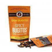 Spicy Bugitos with Cancha Corn