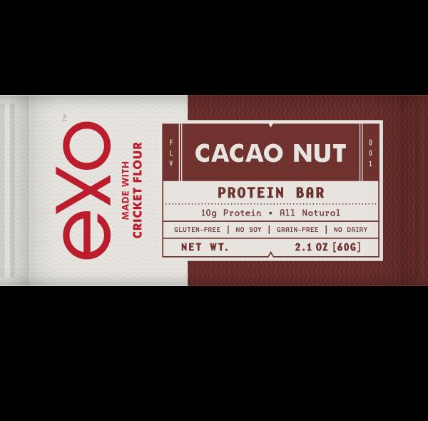 exo cocao nut bar
