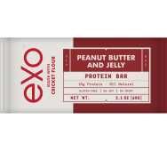 peanut butter and jelly energy bar