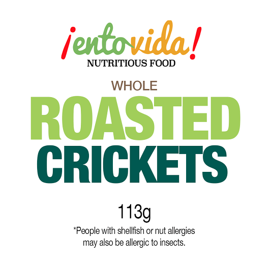 Roasted Crickets