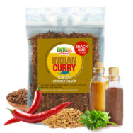 Indian Curry Flavored Edible Crickets You Can Eat