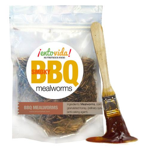 BBQ Mealworms