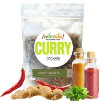 Curry Flavored Crickets