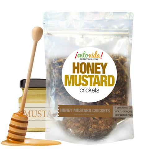 Honey Mustard Crickets