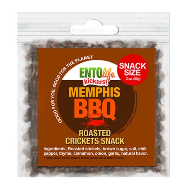 BBQ Flavored Edible Crickets
