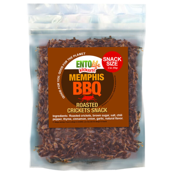 BBQ Flavored Crickets Raised for Human Consumption