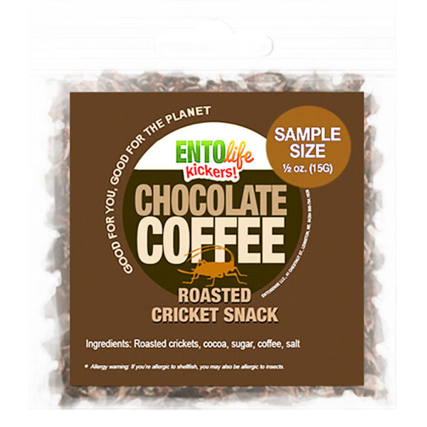 Chocolate Coffee Flavored Edible Crickets