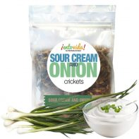 Sour Cream & Onion Roasted Crickets