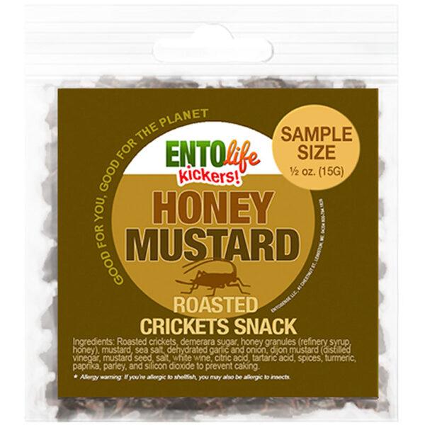 Honey Mustard Flavored Edible Crickets