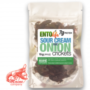 Sour Cream and Onion Crickets