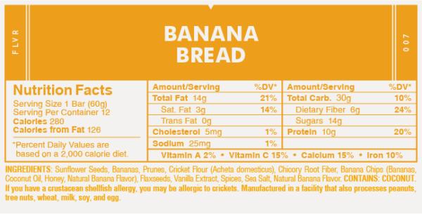 Banana Bread Protein Bar