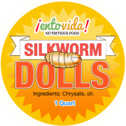 Silkworm Dolls Label
