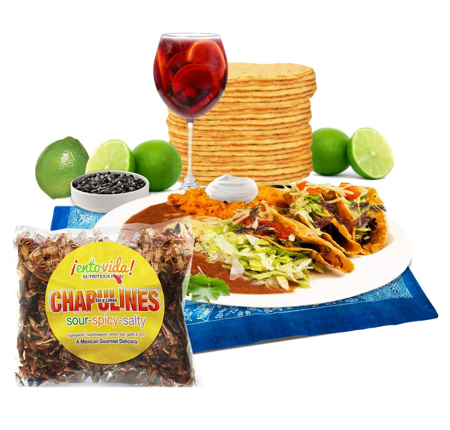 Traditional Mexican Chapulines Nutrition