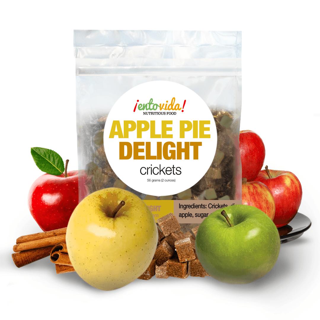 Apple Pie Seasoned Roasted Crickets