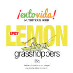 EntoVida Grasshopper SPICY-LEMON GRASS