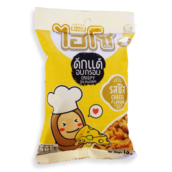 HISO Cheese Flavored Silkworm Pupae Snack