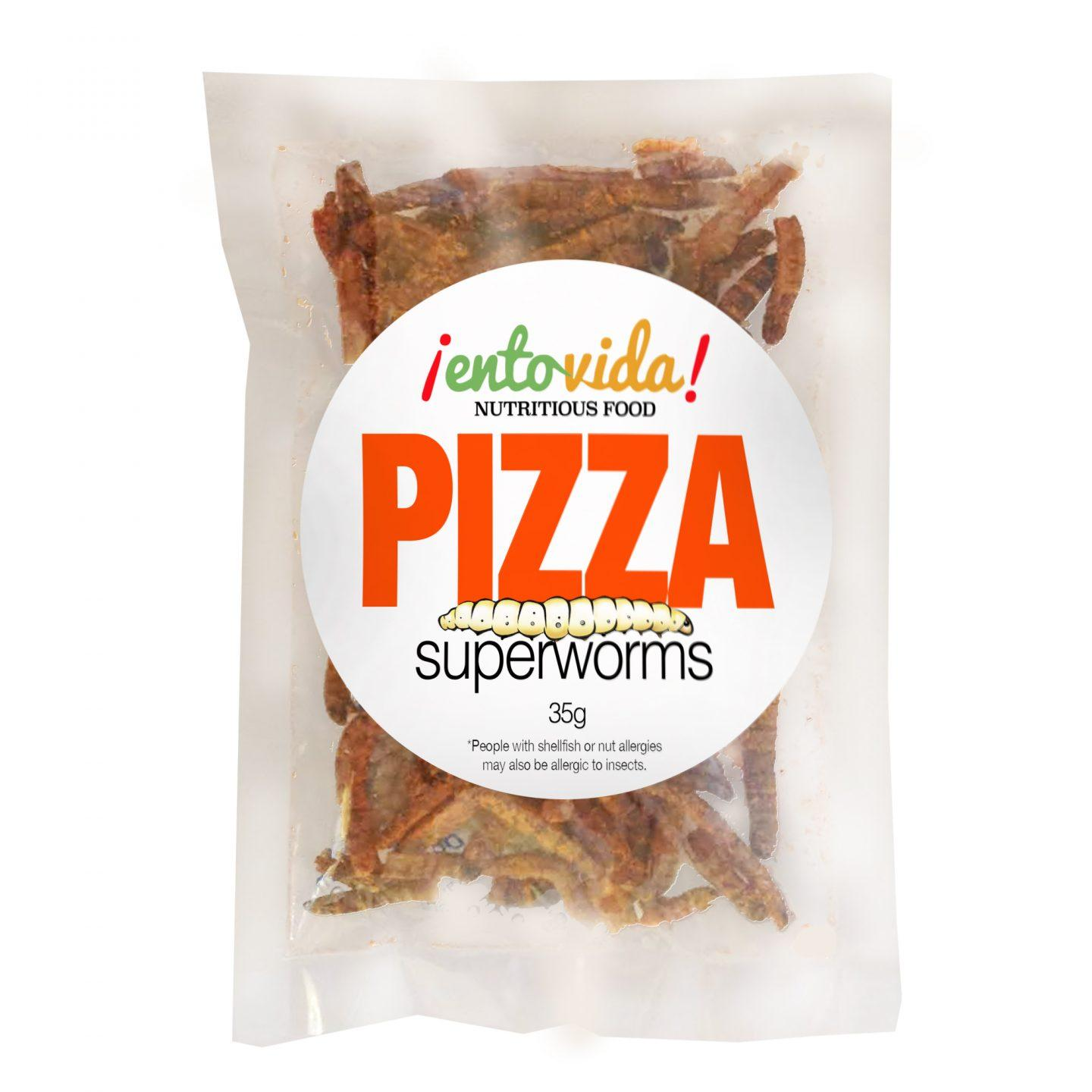 Pizza Superworms