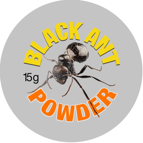 Black Ant Powder Label