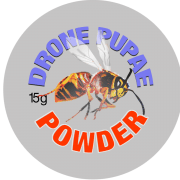 Bee Drone Powder Label