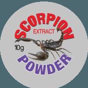 Scorpion Powder Label