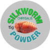 Silkworm Chrysallis Powder Label