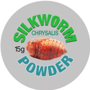 Silkworm Chrysallis Powder Label