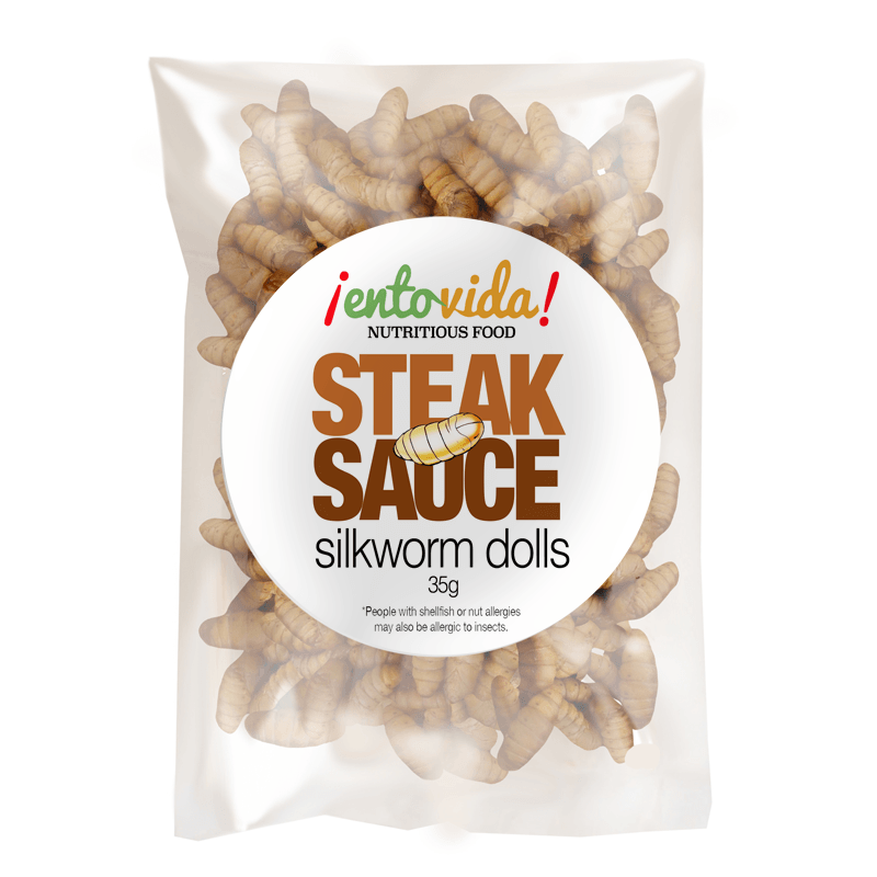 Steak Sauce Silkworm Dolls