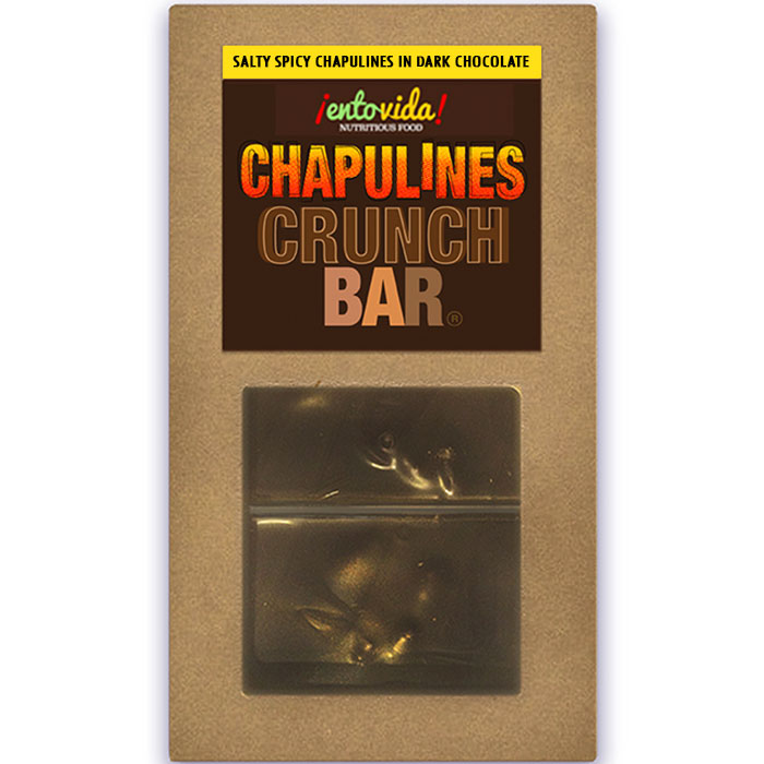 Chapulines Chocolate Bar