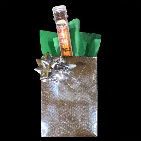 Gift Bag - Mini-Kickers Orange Creamsicle Flavored Crickets