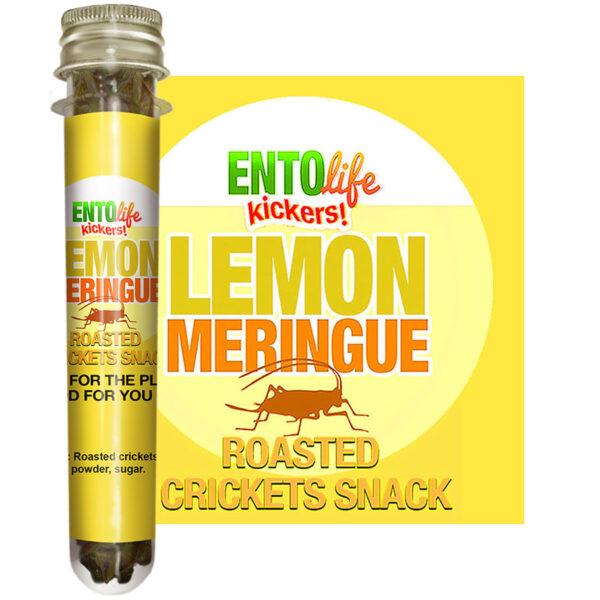 Lemon Meringue Edible Crickets for Human Consumption