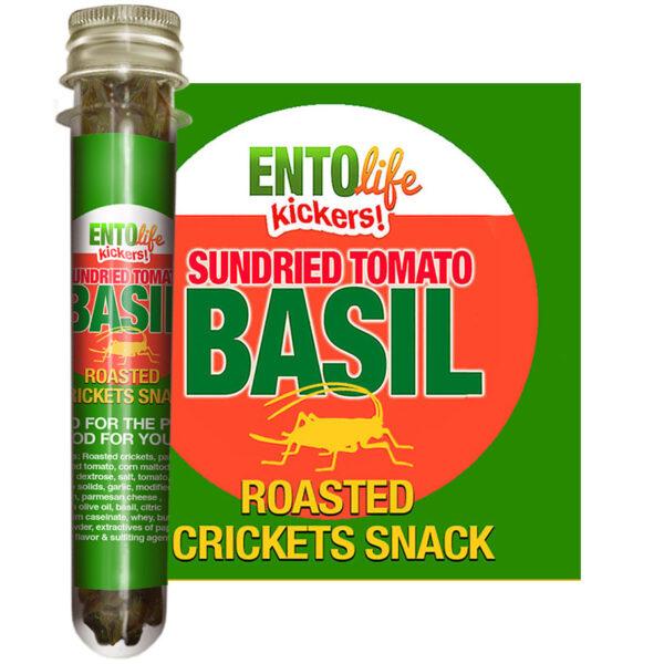 Sundried Tomato Basil Edible Crickets for Human Consumption