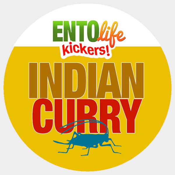 Indian Curry Crickets for Human Consumption
