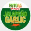 Jalapeno Garlic Crickets for Human Consumption