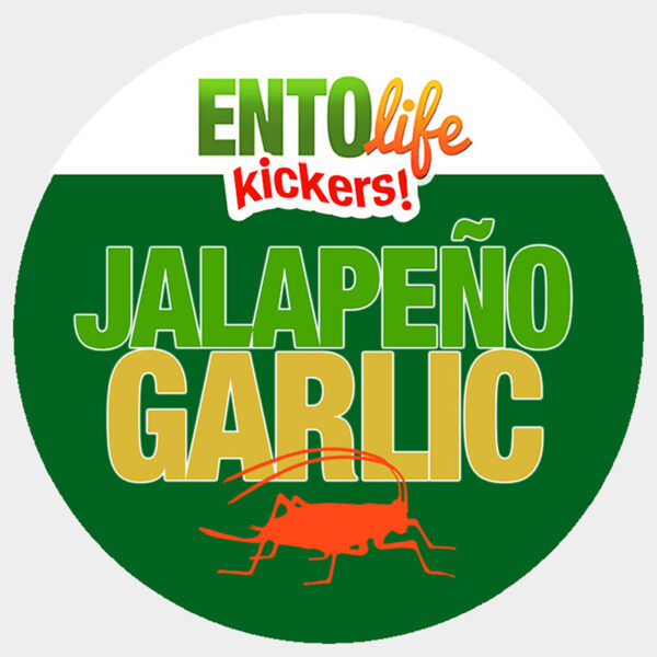Jalapeno Garlic Crickets for Human Consumption