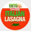 Italian Lasagna Crickets for Human Consumption