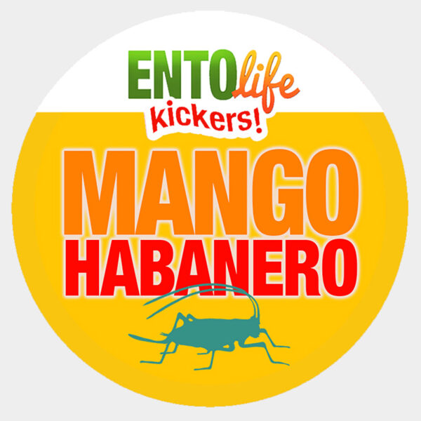 Mango Habanero Crickets for Human Consumption