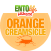 Orange Creamsicle Flavored Crickets