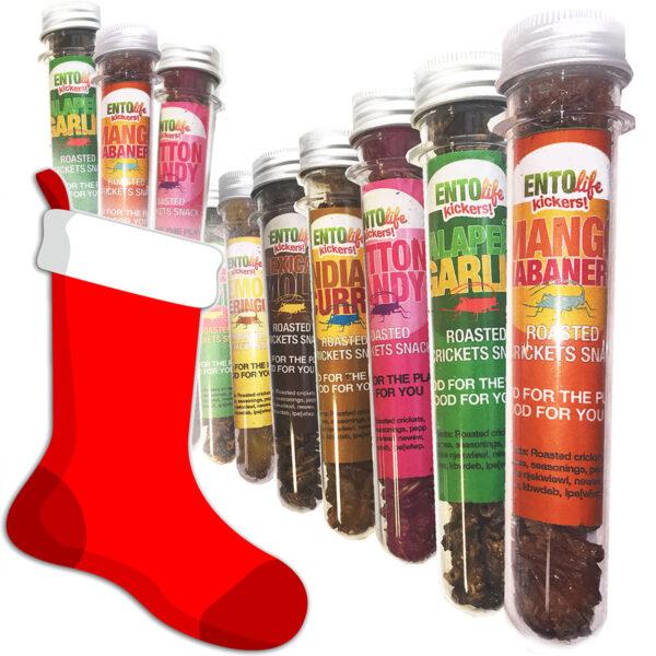 Stocking Stuffers - Mini-Kickers - Flavored Crickets