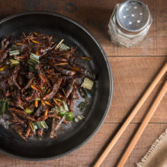 Fried-Chapulines