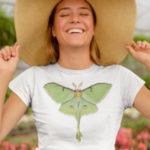 Luna Moth Shirt