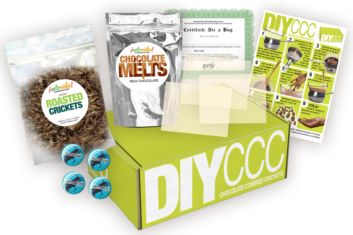 Edible Insect Subscription Box