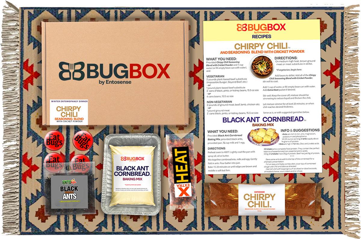 Edible Bug Gift Subscription Box