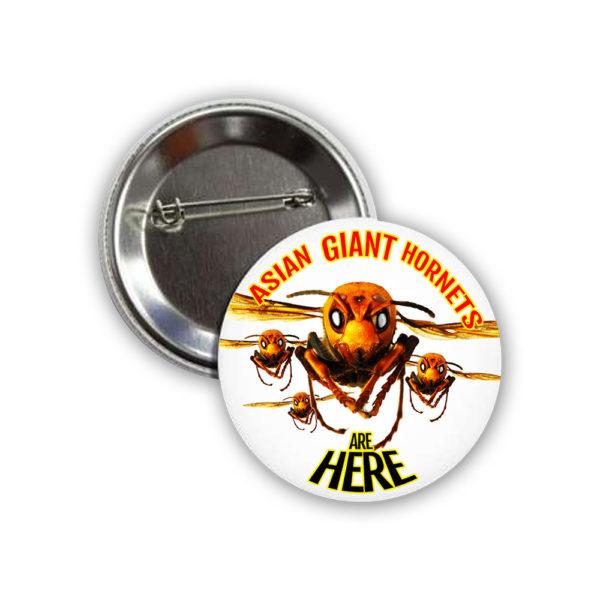 Asian Giant Hornet Button