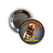 Murder Hornet Button