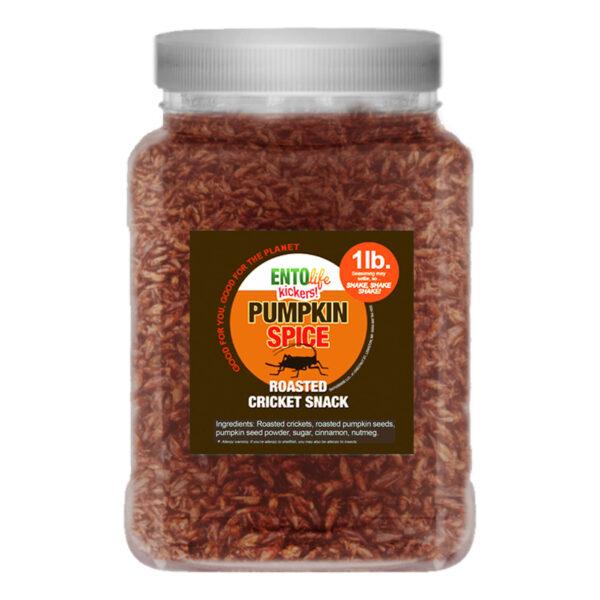 Crickets by the Pound: Pumpkin Spice