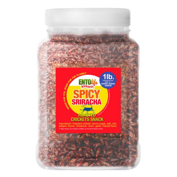 Crickets by the Pound: Sriracha
