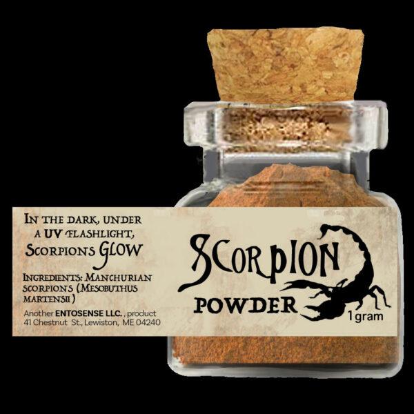 Scorpion Powder Full Label