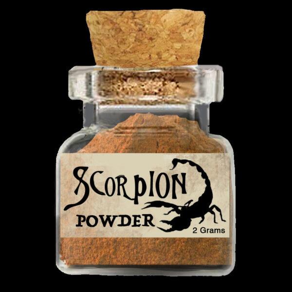 2 Grams of Scorpion Powder